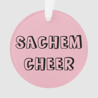 school cheer ornament