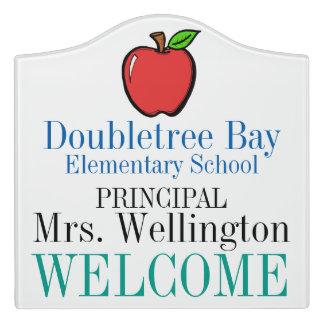 School Classroom Door Sign