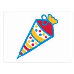 School cone postcard