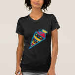 School cone t-shirt
