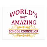 School Counsellor Postcard