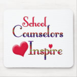School Counsellors Inspire Mouse Pad
