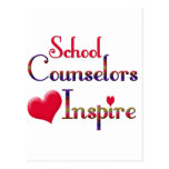 School Counsellors Inspire Post Card