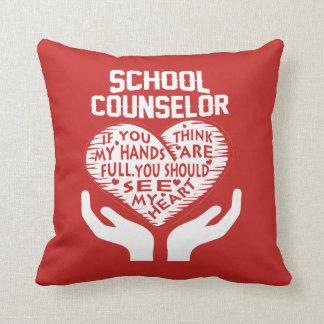 School Counselor Cushion