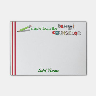 School Counselor Customized Post-it® Note Post-it® Notes