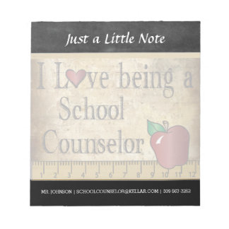 School Counselor | Vintage Style Notepad