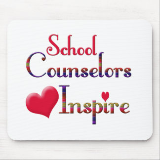 School Counselors Inspire Mouse Pad