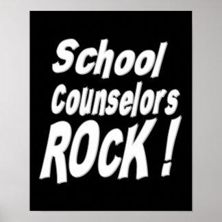 School Counselors Rock! Poster Print