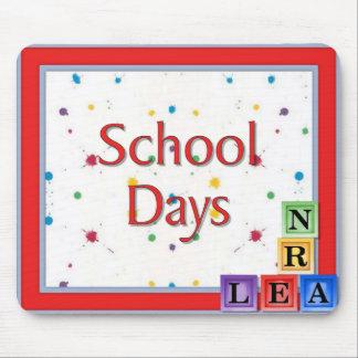 School Days Blocks Mousepads