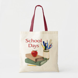 School Days Budget Tote Bag