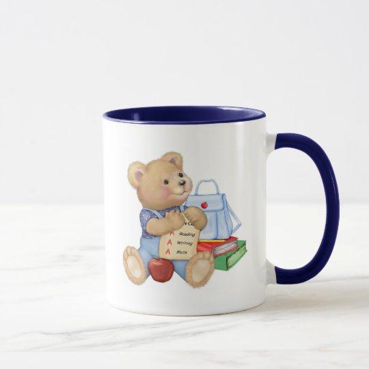 School Days Teddy Mug