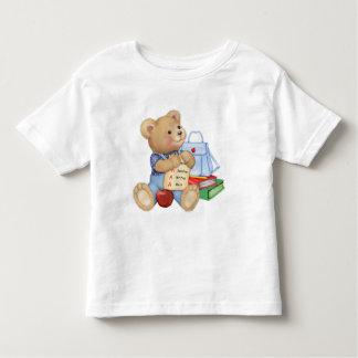 School Days Teddy Toddler T-Shirt