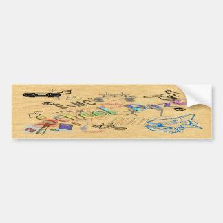 School Daze Bumper Sticker
