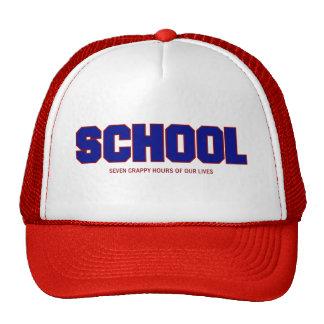 SCHOOL MESH HATS
