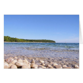 School House Beach Greeting Card