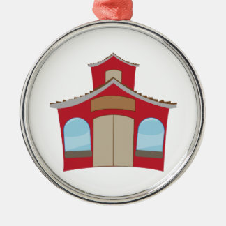 School House Christmas Ornament