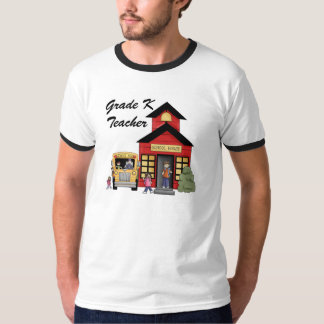School House Grade K Teacher Tshirts and Gifts