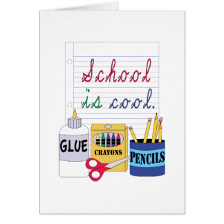 School Is Cool Greeting Cards
