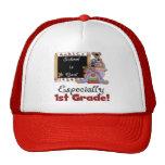 School is Cool Especially 1st Grade Cap