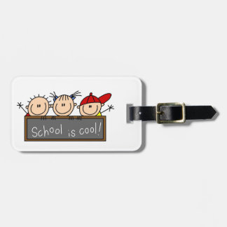 School is Cool Luggage Tag