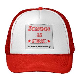 School Is Fine Hat