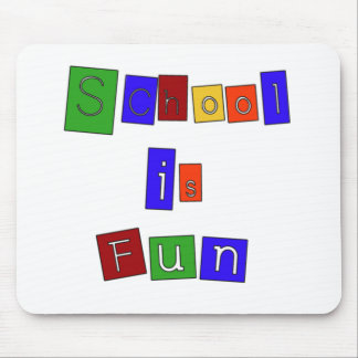 School is Fun Mouse Pad