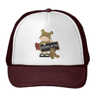 School Is Fun School Gift Mesh Hats