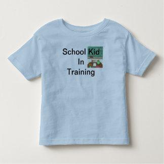 School Kid in Training Toddler PreSchooler Tshirt