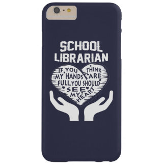 School Librarian Barely There iPhone 6 Plus Case