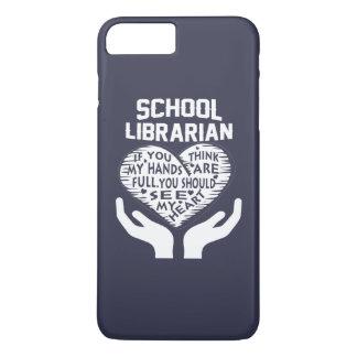 School Librarian iPhone 7 Plus Case