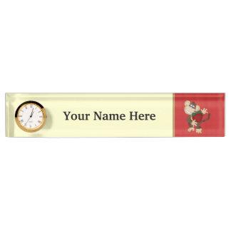 School Monkey Teacher name plate