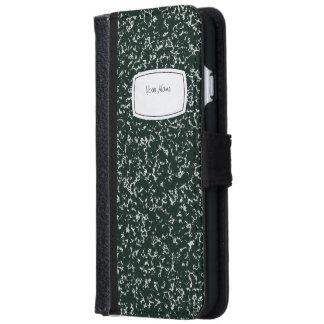 School Note Book iPhone 6 Wallet Case