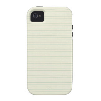 School Note Paper Vibe iPhone 4 Case
