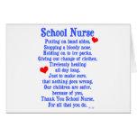 School Nurse Card