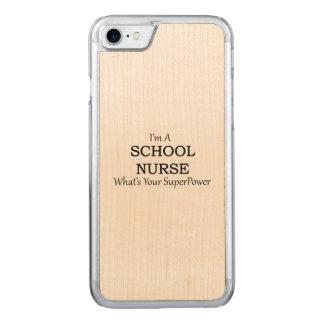 SCHOOL NURSE CARVED iPhone 8/7 CASE