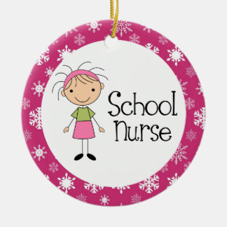 School Nurse Christmas Ornament