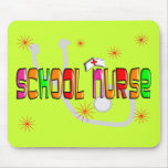 School Nurse Gifts & T-Shirts Mouse Pads