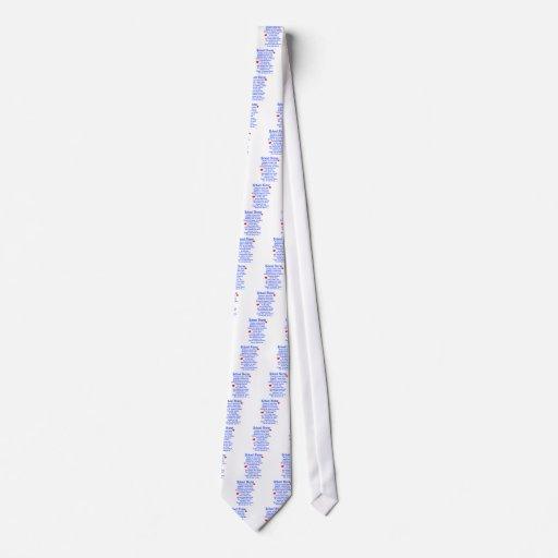 School Nurse Neck Tie