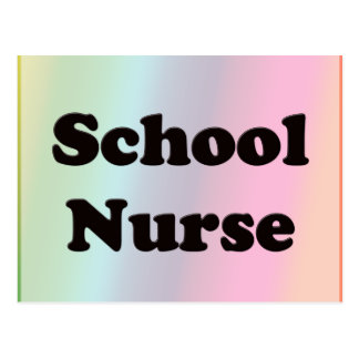 School Nurse Postcard