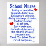 School Nurse Poster