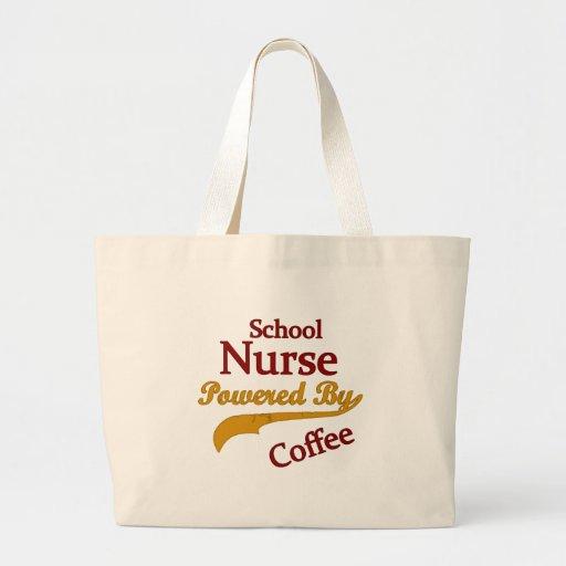 School Nurse Powered By Coffee Tote Bag