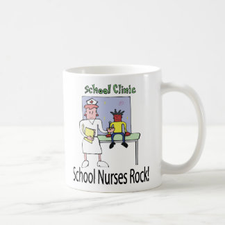 School Nurses Rock mug