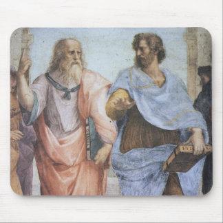 School of Athens (detail - Plato & Aristotle) Mouse Pad