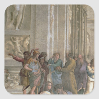 School of Athens, from the Stanza della Square Sticker