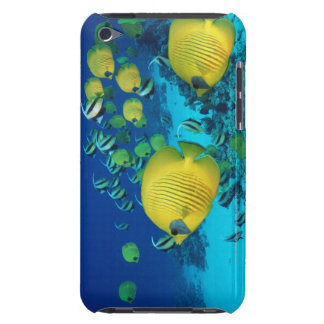 School of Butterfly Fish Swimming on the Seabed Barely There iPod Cover