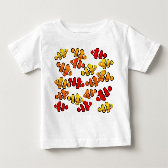 School of Coral Reef Clownfish Infant T-Shirt
