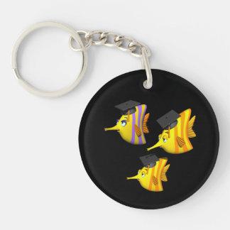 School Of Fish Key Ring