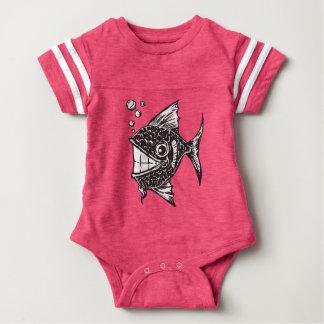 School of Happy Fish Baby Bodysuit