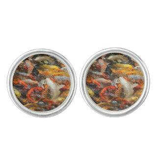 School of Koi Fish Cufflinks