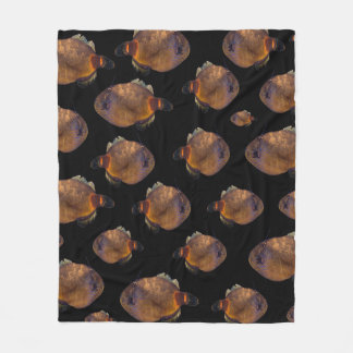 School Of Leatherjacket Fish, (M) Fleece Blanket